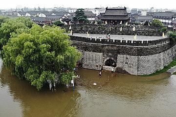 CHINA-ANHUI-FLOOD KONTROLLE (CN) CHINA-ANHUI-FLOOD KONTROLLE (CN)