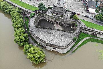 CHINA-ANHUI-FLOOD KONTROLLE (CN)