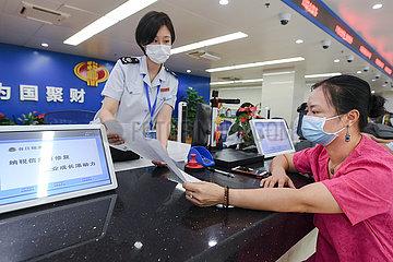 CHINA-FUJIAN-FUZHOU-Steuer-Service-Kreditmanagement (CN) CHINA-FUJIAN-FUZHOU-Steuer-Service-Kreditmanagement (CN)