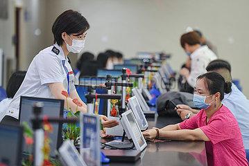 CHINA-FUJIAN-FUZHOU-Steuer-Service-Kreditmanagement (CN)