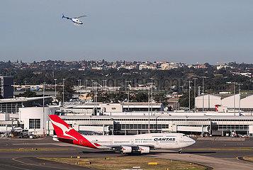 AUSTRALIEN-SYDNEY-QANTAS-LAST BOEING 747