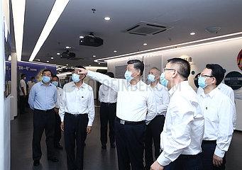 CHINA-JILIN-CHANGCHUN-XI jinping-Inspektion (CN)