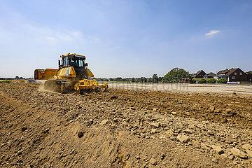 Emscherumbau  Neubau Abwasserkanal Emscher  Ruhrgebiet  Oberhausen  Nordrhein-Westfalen  Deutschland