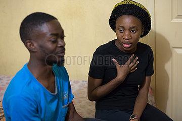 Pretoria  Suedafrika - Fluechtlingshilfe  Migranten