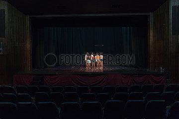 Johannesburg  Suedafrika - Outreach Foundation  Hillbrow  Theater
