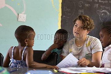 Johannesburg  Soweto  Suedafrika - Sozialprojekte im Township Soweto  internationales Freiwilligenprogramm
