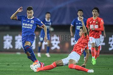 (SP) CHINA-DALIAN-FOOTBALL-CHINESE SUPER LIGA-Öffnung (CN)