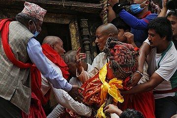 NEPAL-Lalitpur-RATO MACHINDRANATH FESTIVAL