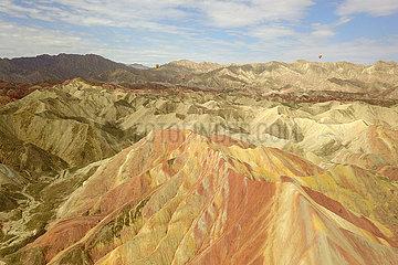 CHINA-GANSU-Zhangye-Danxia-Berge (CN)
