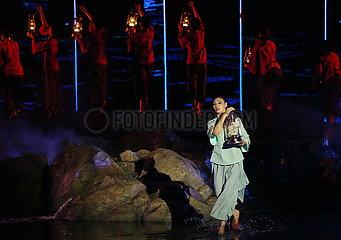 CHINA-HEBEI-QINHUANGDAO-TOURISM-Outdoor-Performance (CN)