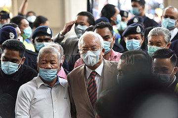 MALAYSIA-KUALA LUMPUR-NAJIB-KORRUPTION-VERDICT