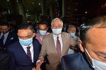 MALAYSIA-KUALA LUMPUR-NAJIB-VERDICT MALAYSIA-KUALA LUMPUR-NAJIB-VERDICT