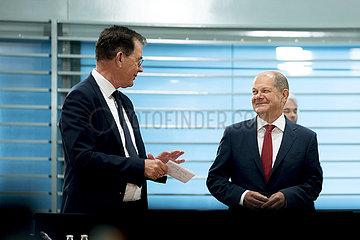 Gerd Mueller  Olaf Scholz  Kabinett