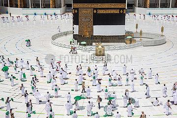 SAUDI ARABIA-MECCA-HAJJ