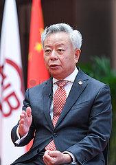CHINA Beijing-aIIb-jin liqun-Interview (CN)