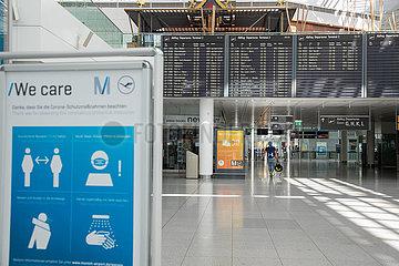 Flughafen München in Zeiten von Corona