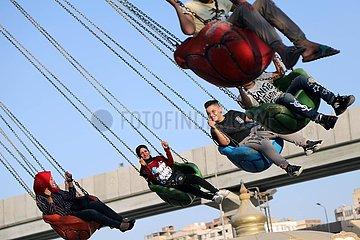 EGYPT-CAIRO-EID AL-ADHA-HOLIDAY
