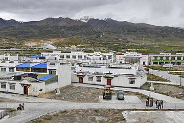 CHINA-TIBET-Damxung-RELOCATION-POVERTY RELIEF (CN)