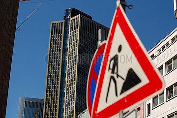 Price Waterhouse Coopers Turm in Frankfurt