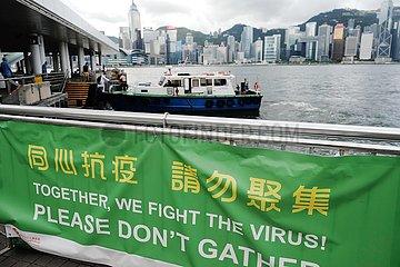 CHINA-Hongkong COVID-19-MASSNAHMEN (CN) CHINA-Hongkong COVID-19-MASSNAHMEN (CN)