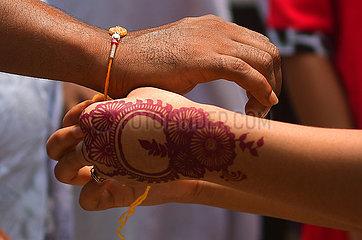 INDIEN-Raksha Bandhan FESTIVAL