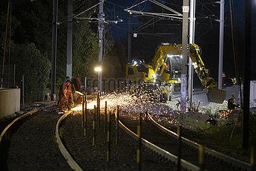 Ausbau des Bahnnetzes