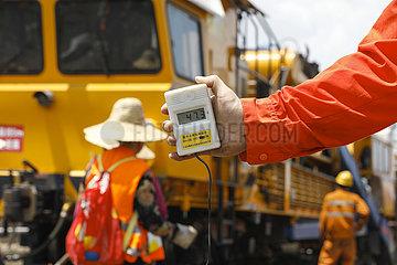 CHINA-JIANGXI-RAILWAY-WORKERS (CN)