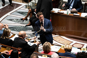FRANCE - POLITICS - QUESTIONS NATIONAL ASSEMBLY JULY 28