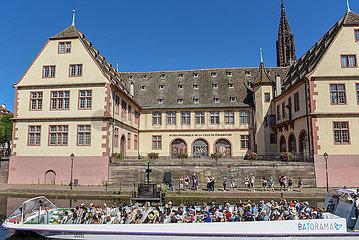 FRANKREICH-STRASSBURG-COVID-19-MASK ZWANG