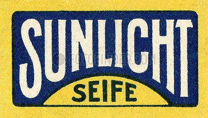 Sunlicht Seife  Logo  1913