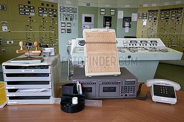 Neuenhagen  Brandenburg  Deutschland - Ehemalige Schaltzentrale im Umspannwerk Neuenhagen.