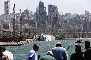 LEBANON-BEIRUT-EXPLOSION-DAMAGE