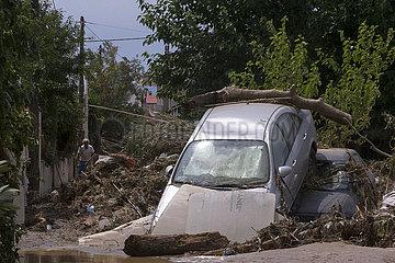 GRIECHENLAND-Evia-STORM