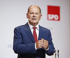 Kanzlerkandidat Olaf Scholz
