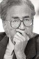 Erhard Eppler  SPD-Politiker  1986