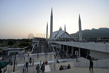PAKISTAN-ISLAMABAD-Faisal-Moschee-TOURISMUS PAKISTAN-ISLAMABAD-Faisal-Moschee-TOURISMUS