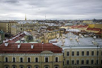 Stadtansicht von Sankt Petersburg