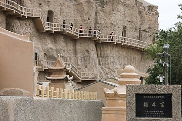 CHINA-GANSU-YULIN GROTTES (CN)