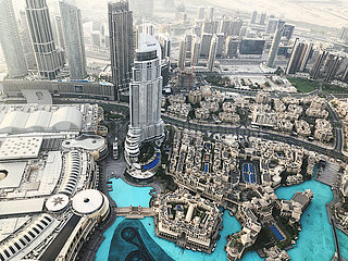 View from above on the Dubai Mall that received GBAC STAR™ Facility Accreditation