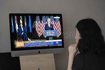 US--JOE BIDEN-Kamala Harris-KAMPAGNE EVENT US--JOE BIDEN-Kamala Harris-KAMPAGNE EVENT