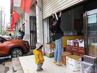 CHINA-TIBET-Xigaze-entreprenuers (CN)