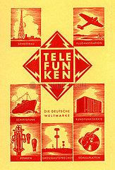 Werbung fuer Telefunken  1938