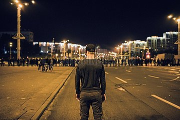 Unruhen in Minsk nach der Präsidentschaftswahl in Belarus | Unrest in Minsk after the presidential election in Belarus