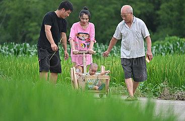 CHINA-FUJIAN-Changting-SCHREINER-RUHESTAND-LIFE (CN)
