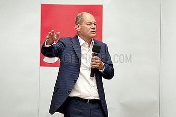 SPD-Kanzlerkandidat Olaf Scholz