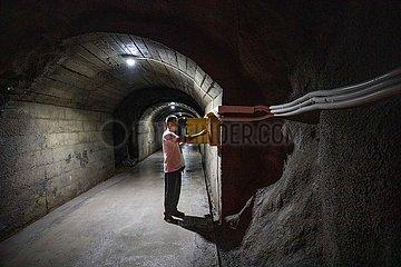 #CHINA-GUIZHOU-BIJIE-RESERVOIR-WORKER (CN)