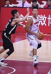 (SP) CHINA-QINGDAO-BASKETBALL-CBA-LIGA-FINALS-3-GAME GUANGDONG VS LIAONING (CN)