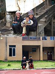 (POVERTY RELIEF ALBUM) CHINA-GUANGXI-NANDAN-ethnische Gruppe-RELOCATION (CN)