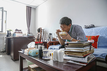 CHINA-BEIJING-DOCTOR-LIU QINGQUAN-MEDICAL WORKERS' DAY (CN)