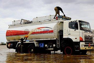 SUDAN-KHARTOUM-schwere Regenfälle